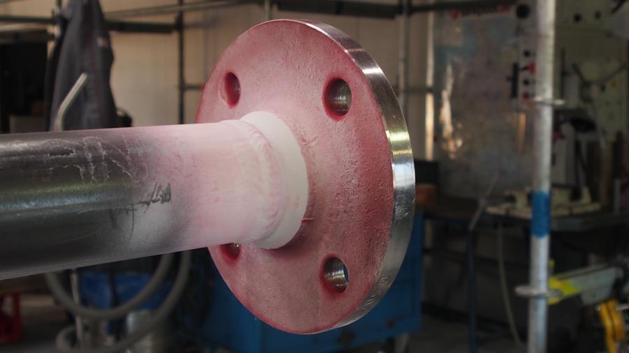 Oberflächenrissprüfung im PT-Verfahren