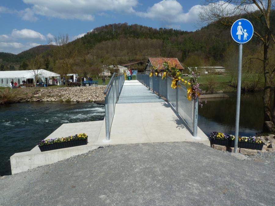 7.4.2019 - Brückenfest zur offiziellen Einweihung der Wässerbrücke