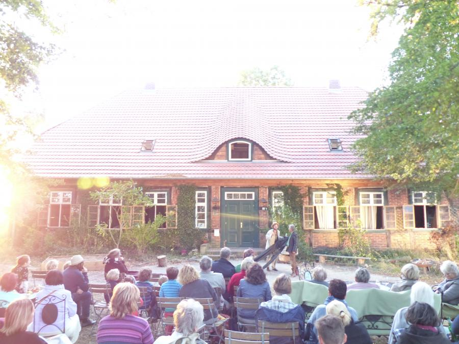 Kulturscheune/ Veranstaltungen  Forsthof Mestlin Foto: J. Gössling