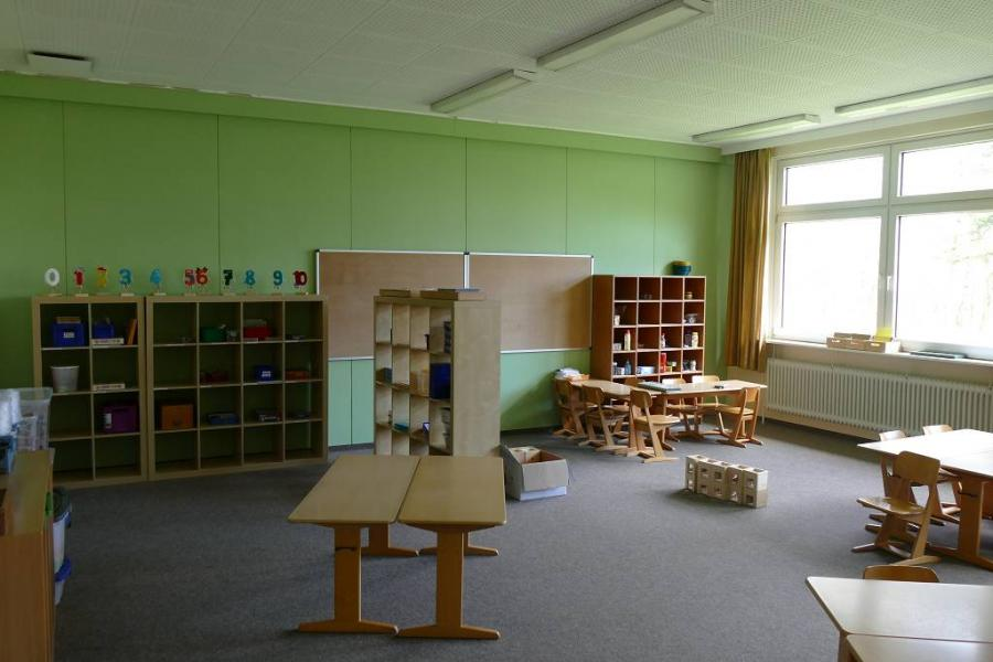 Im Mathematikraum