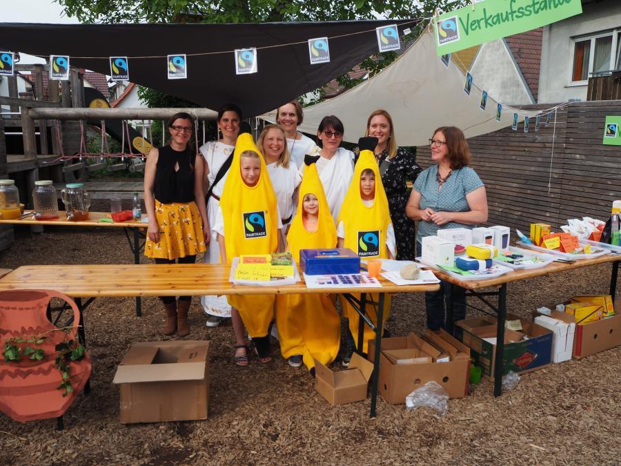 201906 Fairtrade Verkaufsstand Schulfest