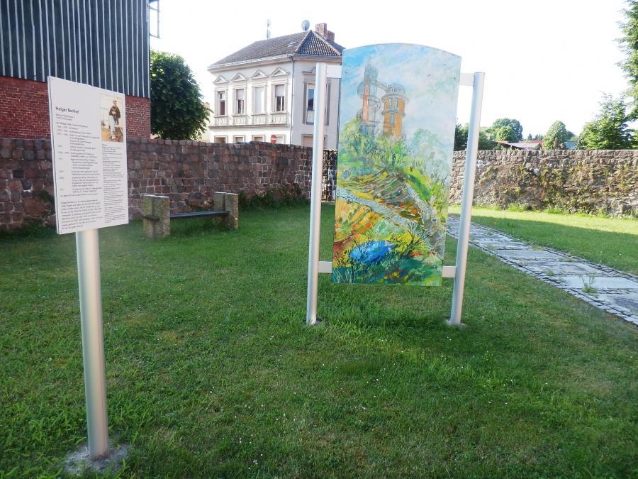 Gedenktafel Holger Barthel