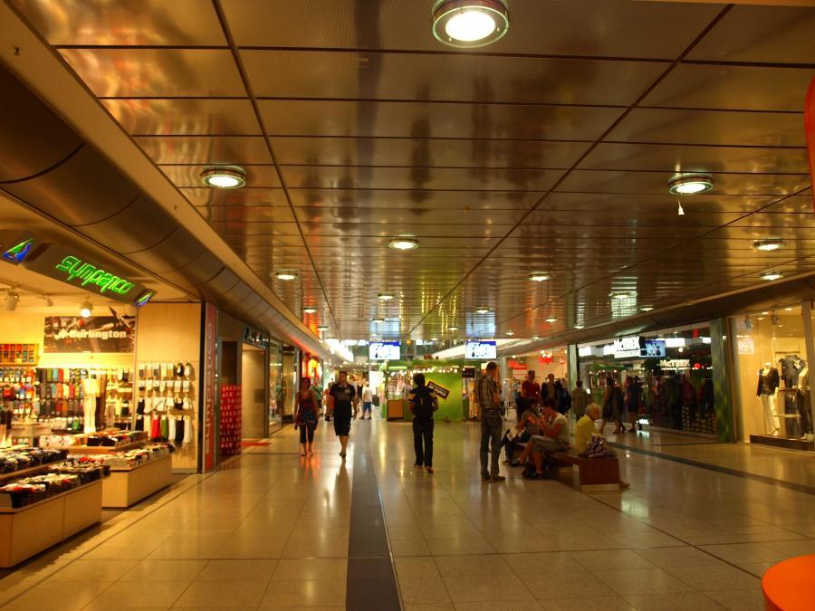 Passage im Hauptbahnhof