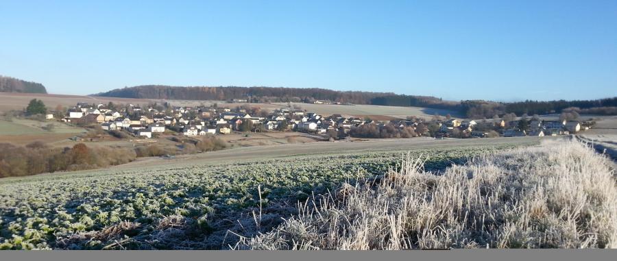 Wandern durch die Bettendorfer Gemarkung im Winter 2016/-17