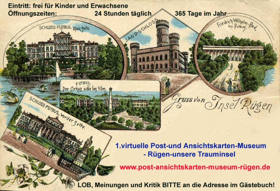 Post - und Ansichtskarten-Museum Rügen