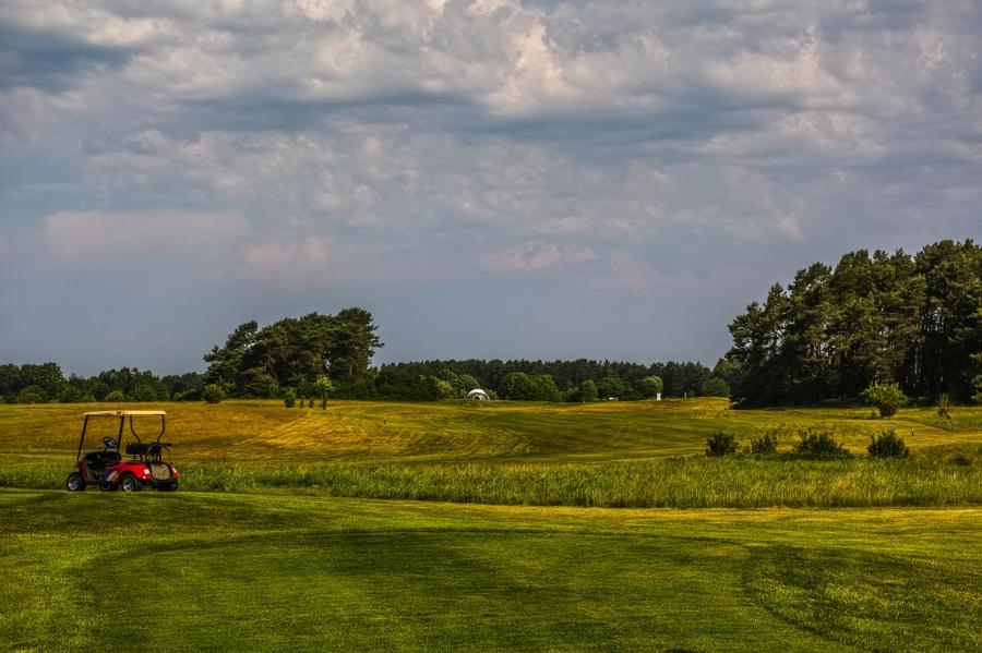 Golfplatz Prenden_Golfrange_Foto: Franke