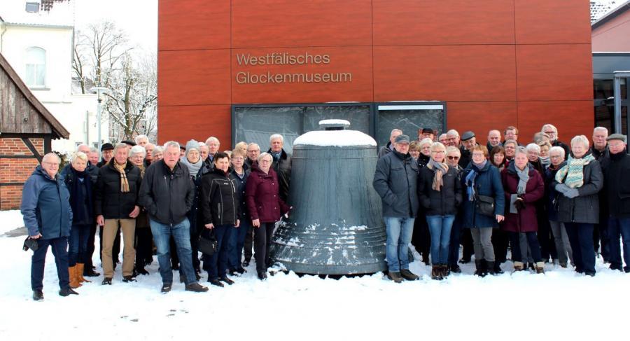 Pättkesfahrer im Glockenmuseum am 31.01.2019