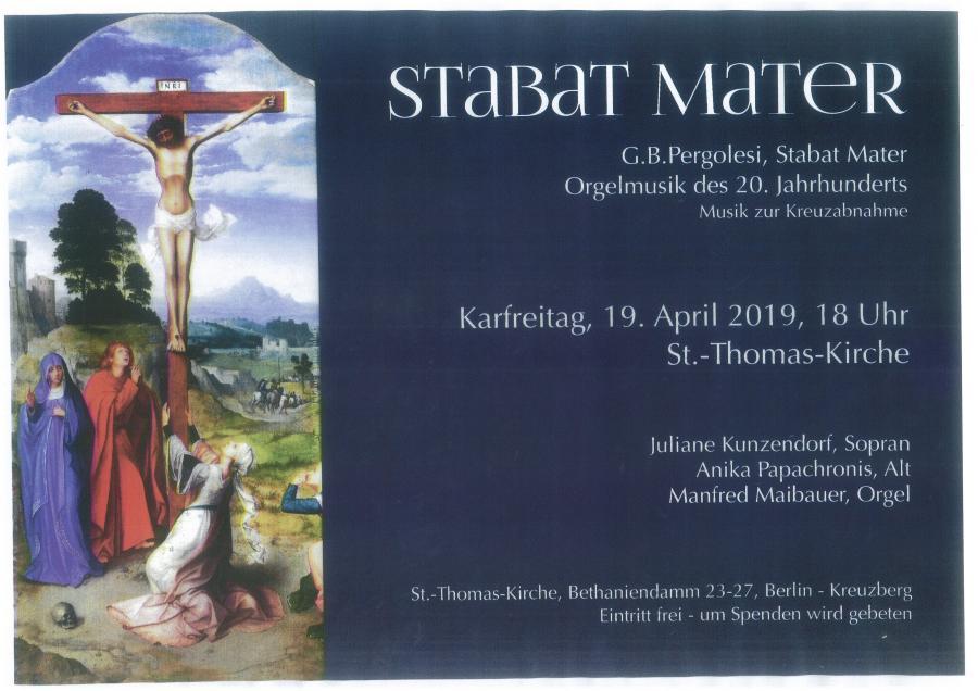 Konzert Stabat Mater