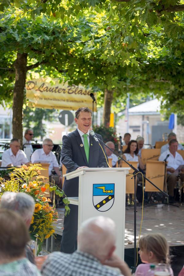 BM Weigel bei der Festlichen Eröffnung 2017