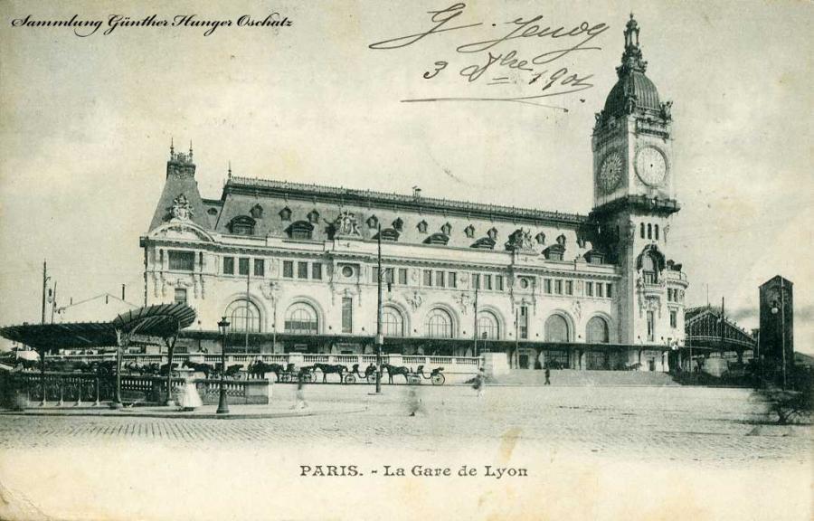 Paris La Gare Lyon