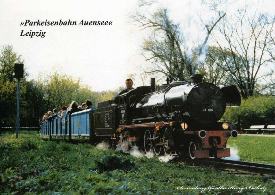 Parkeisenbahn Auensee Leipzig