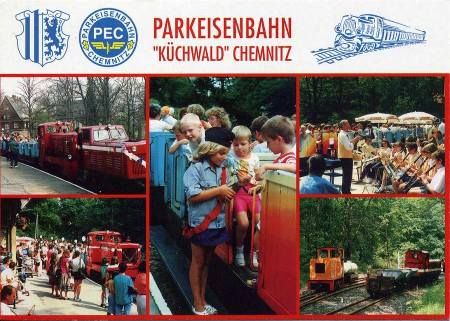 """Parkeisenbahn """"Küchwald"""" Chemnitz"""