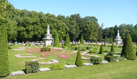 Example of baroque-style garden art