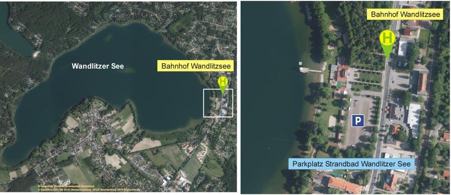 Parkmöglichkeit Wandlitzer See