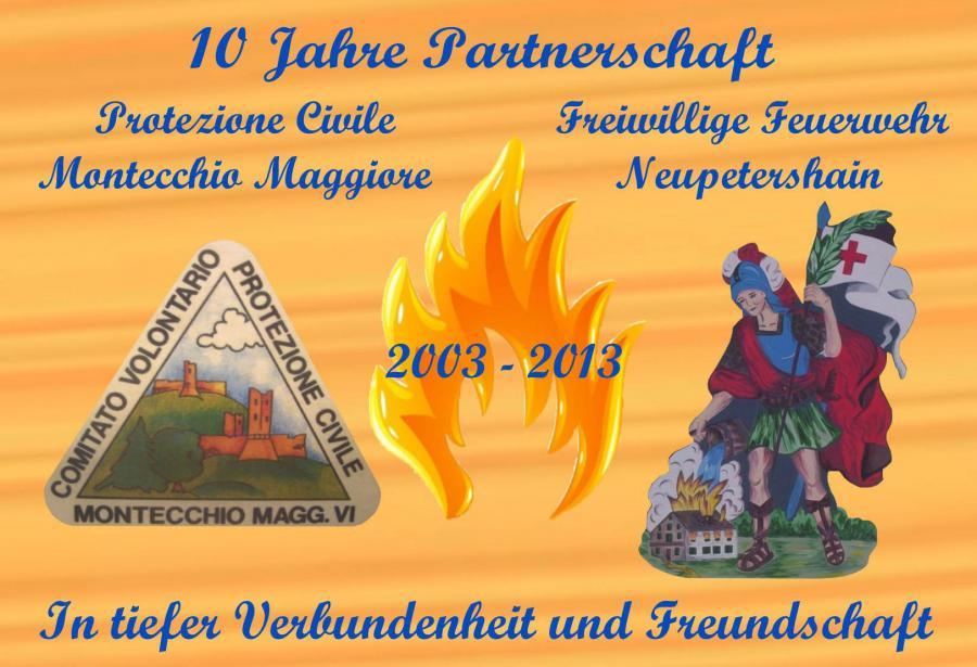 10 Jahre Partnerschaft