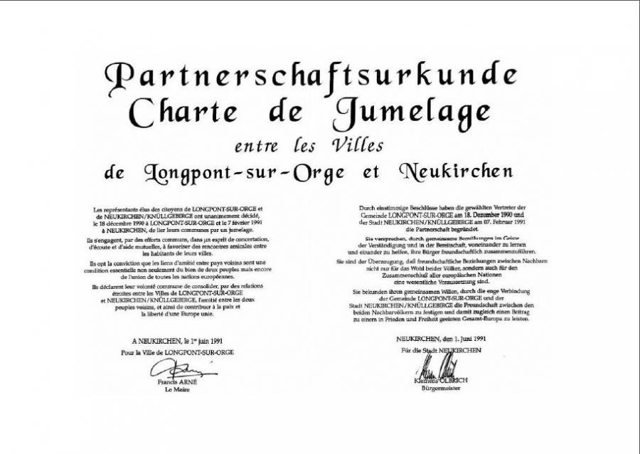 Partnerschaftsurkunde Seite 2