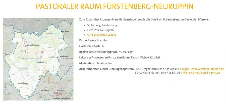 Pastoraler Raum Fürstenberg-Neuruppin