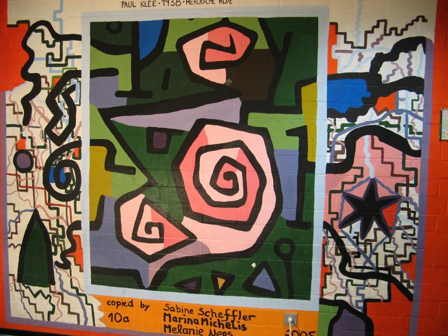 Paul Klee, Heroische Rose