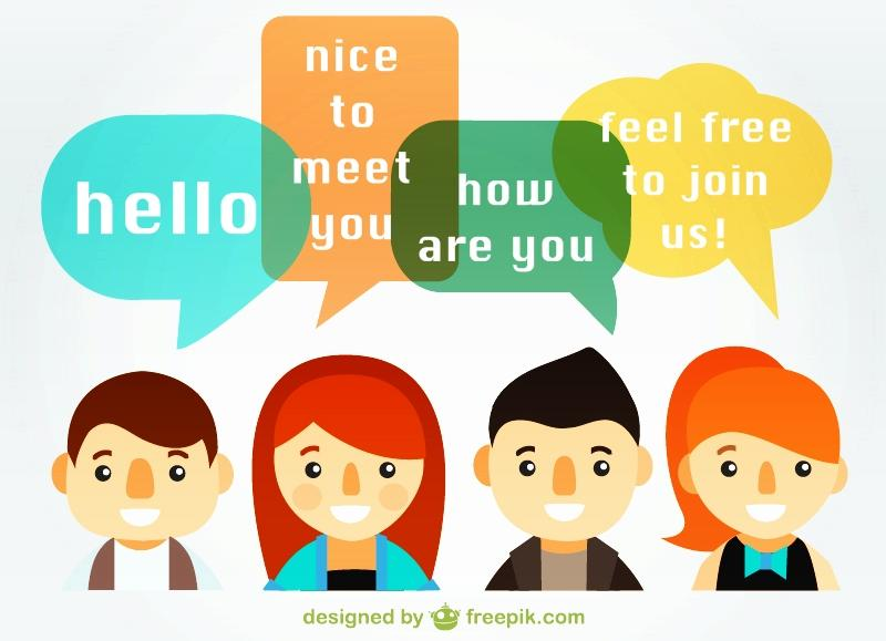 English Conversation Group (freepik.com)