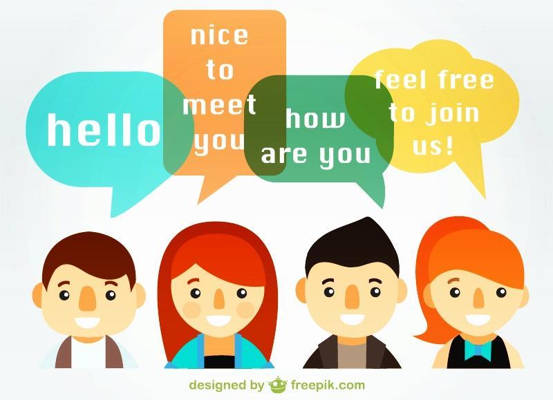 English Conversation Group (freepik.com)