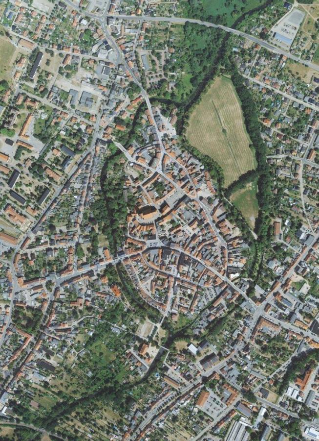 Foto: Big Städtebau | Luftbild von Perleberg