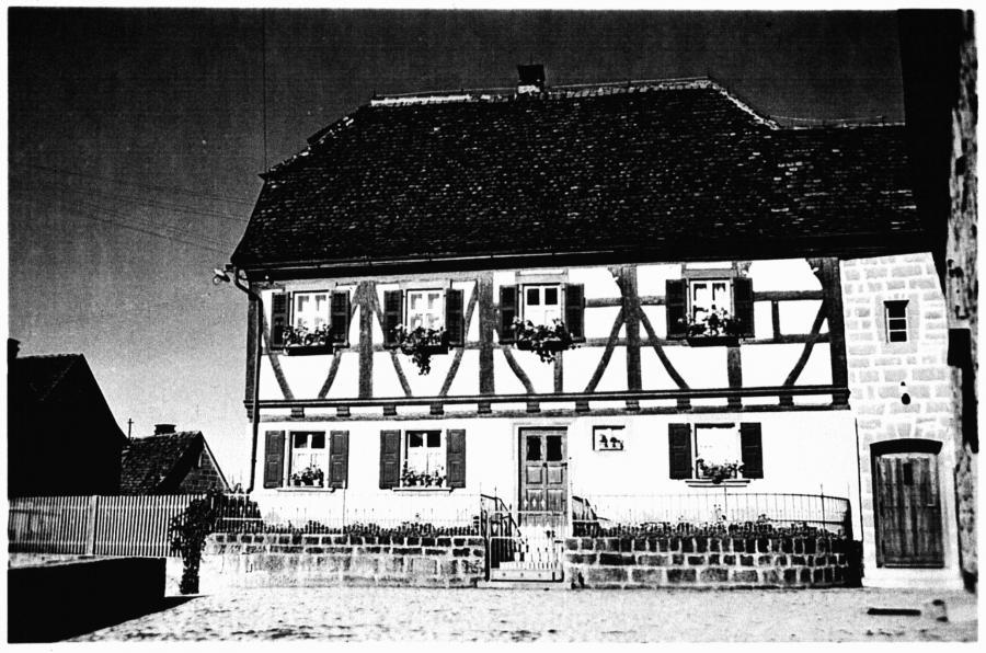 Pfarrhaus mit Fachwerk