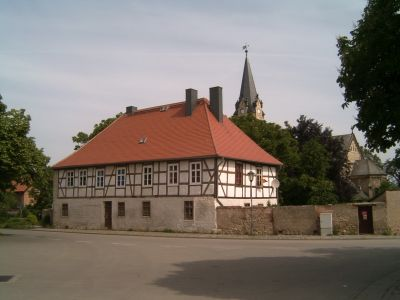 Evangelische Kirche Hakeborn - Pfarrhaus