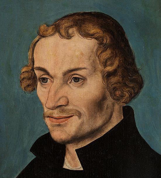 Philipp-Melanchthon, Gemälde von Lucas Cranach d.Ä