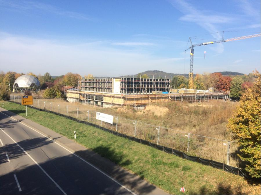 Baustelle Stadthalle