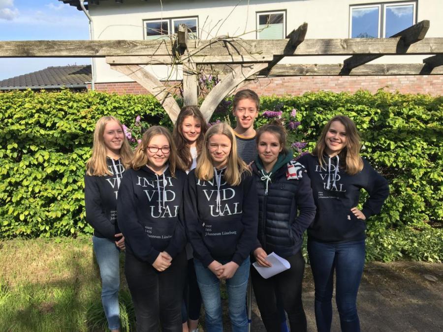 Mitglieder der Schulsanitätsdienst-AG