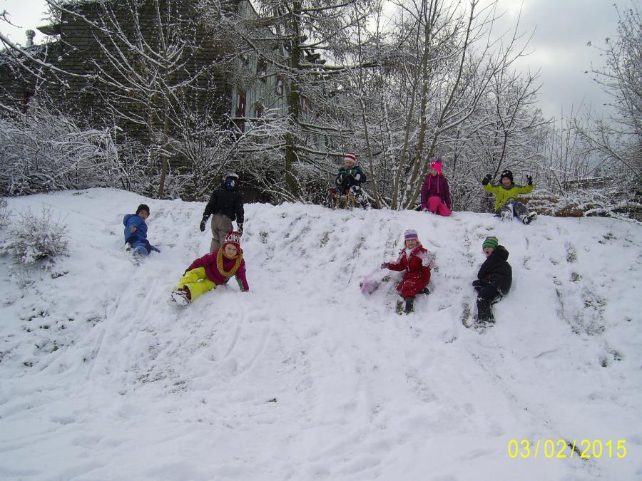 Schnee - juche!