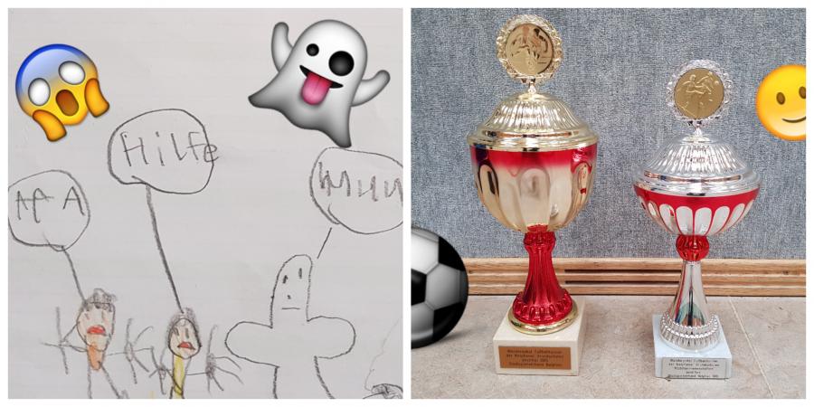 Kindertexte Fußball Gespenster