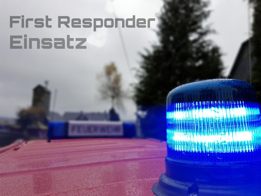 First responder Einsatz