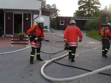 Einsatzübung Himmernmoos 29.06.2004 Harrislee - Sonnenpark