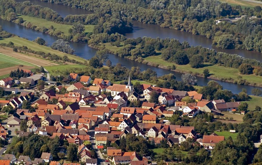 Luftbild Untereuerheim