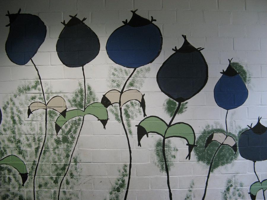 Pigmaso, Blaue Blüten