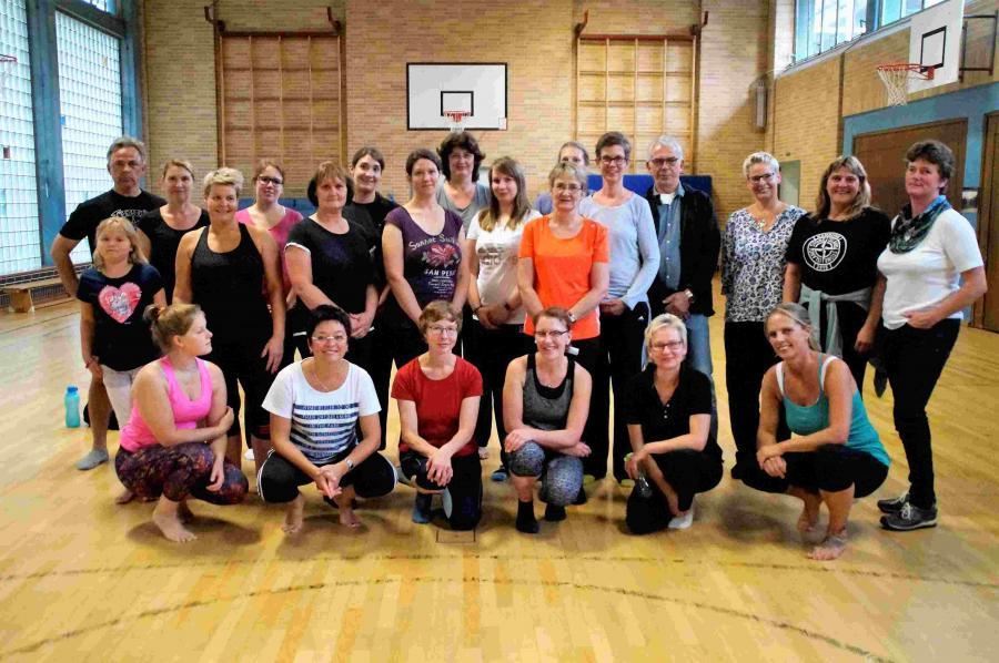 Pilates-Gruppe 2017/2018