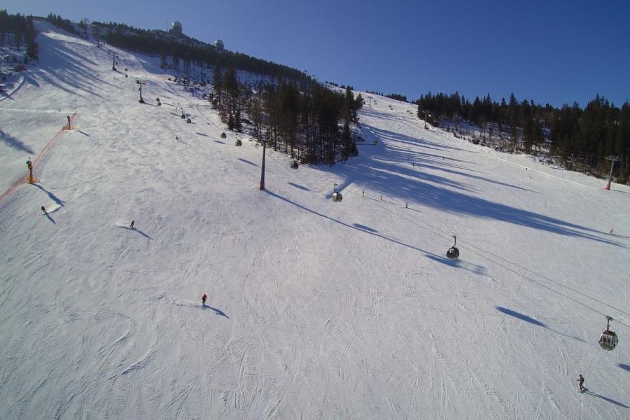 Skifahren am Großen Arber- Pisten