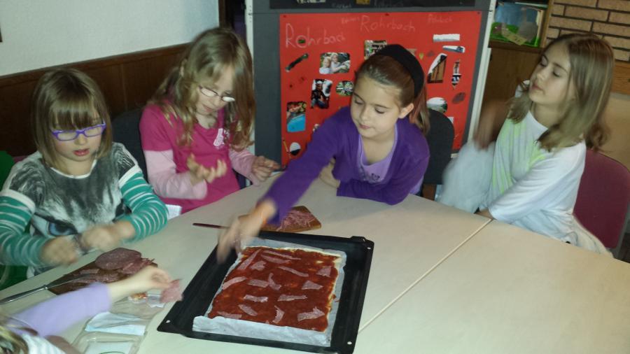 Pizzen belegen 2