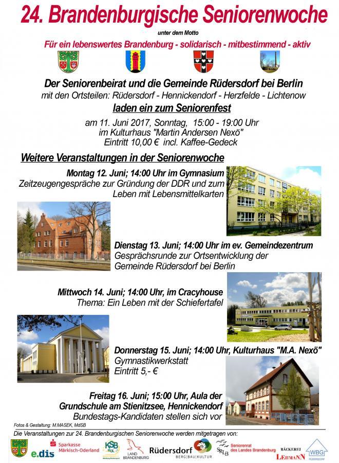 24. Brandenburgische Seniorenwoche