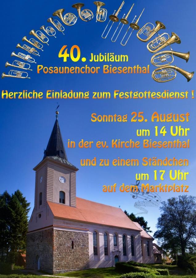 40 Jahre Posaunenchor