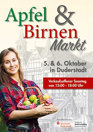 Apfel- und Birnenmarkt 2019