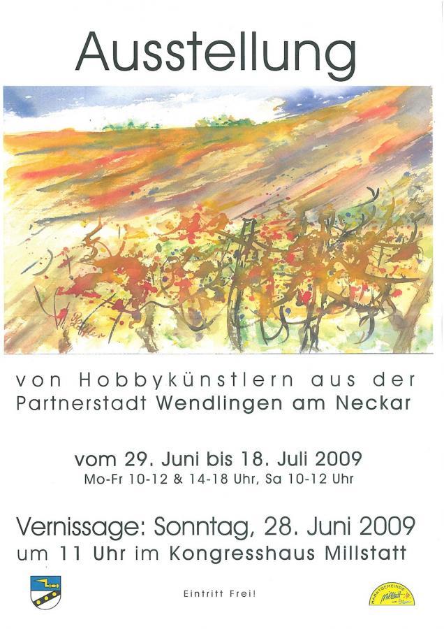 Plakat Ausstellung Millstatt 2009