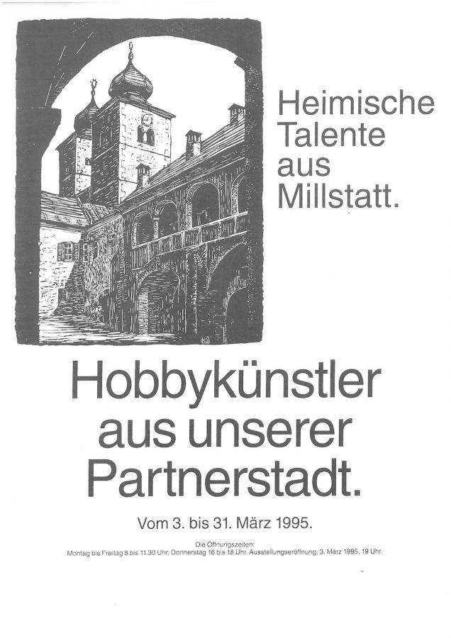Plakat Ausstellung in Wendlingen 1995