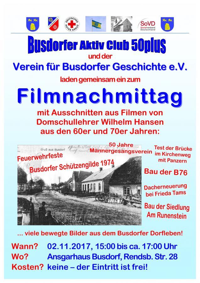 Plakat Filmnachmittag 2017