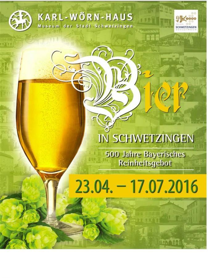 Plakat Bierausstellung