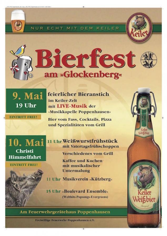 Plakat Bierfest 2018
