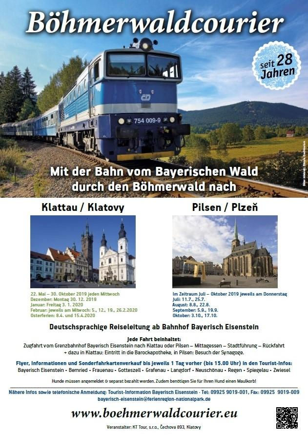 Plakat BöhmerwaldCourier Saison 2019-2020