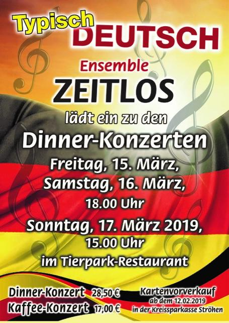 Dinner-Konzerte 2019