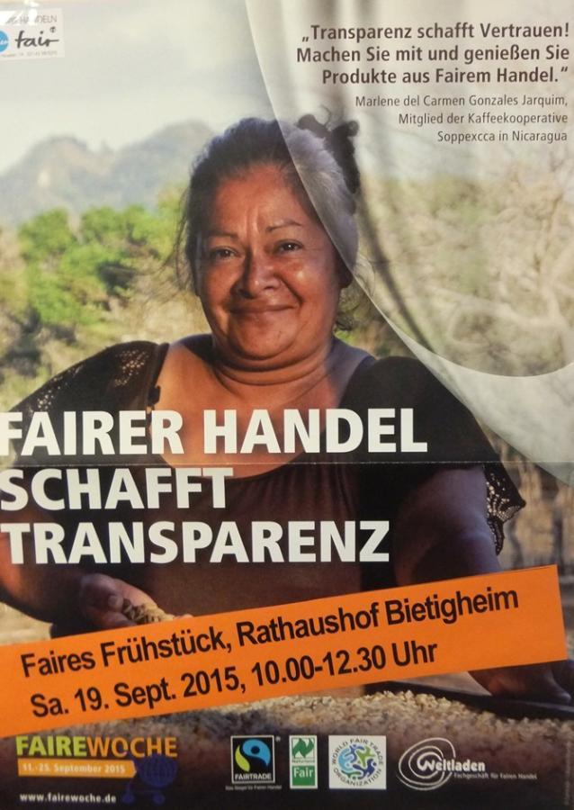 Faires Frühstück 2015